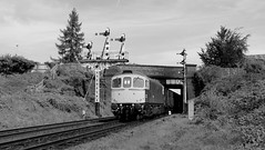 To the Docks (Duck 1966) Tags: 33035 class33 diesel locomotive goods train vans gcr emrps
