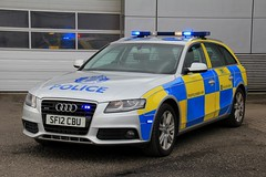 Police Scotland Audi A4 Quattro Roads Policing Unit Traffic Car (PFB-999) Tags: police scotland ps audi a4 quattro avant estate roads policing unit rpu traffic car vehicle lightbar grilles fendoffs leds sf12cbu
