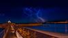 Vite, partons !! (Shoot Enraw) Tags: port pyrénnéesorientales nuit orage storm nature poselongue ciel éclairs méditerrannée