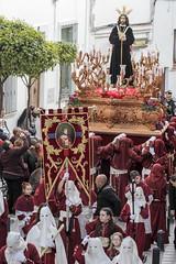Semana Santa 2018 (Aficionada*) Tags: sanroque semanasanta cadiz andalucía españa campodegibraltar viernessanto procesión imágenes primavera penitentes costaleros flores