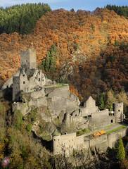 Burg Manderscheid - Eifel (Real_Aragorn) Tags: burg manderscheid eifel castle
