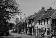 Doel (Marco van Beek) Tags: doel bw black white city europe beautiful world nikon d5000 afs dx nikkor 18200mm f3556g ed vr ii buildings belgium