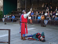 DSCF7381 (draculiaved) Tags: hungary visegrad tournament fight photobysvetlanalyzhina historicalreenactment
