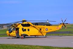 Lossiemouth SAR (Gerry Rudman) Tags: westland sea king har3 xz 588 raf lossiemouth sar fleetlands joint warrior exercise