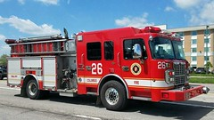 Engine 26 (Central Ohio Emergency Response) Tags: columbus ohio fire division truck scene engine pumper spartan