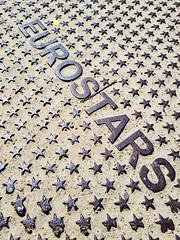 83/365 (Daniel Kulinski) Tags: star euro eurostars stars many lot uncountable steel plate word space metal sand galaxy samsunggalaxys8 s8 galaxys8 samsungs8 mobile