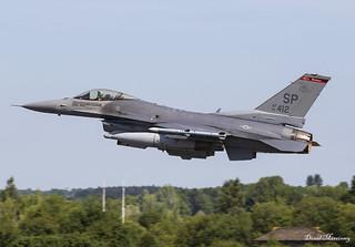 USAF F-16C 91-0412