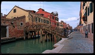 Venice : Rio Madonna dell'Orto / Ponte Loredan