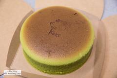 Green Tea Bouncy Cheesekcake (thewanderingeater) Tags: kekimoderncakes kekicakes bouncycheesecake manhattan nyc cheesecake