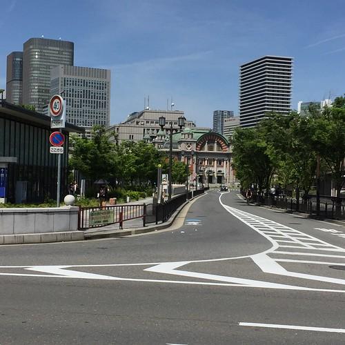中央公会堂が見えます