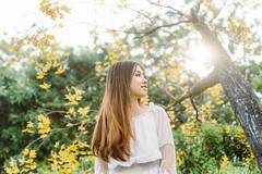 DSC_0141 (tungson.nguyen) Tags: girl woman portrait white dress film garden sun