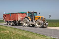 RENAULT Atlès 925 RZ - Ponthieux Trailer (Mat Bonaventure) Tags: tracteur renault 100 ans anniversaire tractors france agriculture