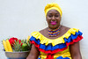 colorful Colombian woman (ABWphoto!) Tags: southamerica colombia cartagena colombiana ethnic cultural color colorful one person woman portrait fruit vendor beads makeup posing