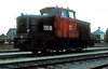 MH 312  Esbjerg  27.05.83 (w. + h. brutzer) Tags: esbjerg mh diesellok dieselloks eisenbahn eisenbahnen train trains dänemark railway lokomotive locomotive zug dsb webru analog nikon