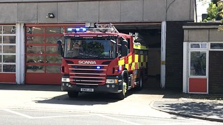Hertfordshire Fire and Rescue Hemel Hempstead Turnout