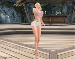 Janiah (Sannita_Cortes) Tags: moz elikatira gift glamaffair ikon lelutka maitreya mozdesigns petitchat thechapterfour wellmade anklet bracelet choker fashion necklace pantoutfits shorts tops secondlife sl styles virtualworld virtual virtualfashion female kc kccouture