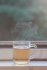 Green tea (not without my camera(s)) Tags: glass tea steam hot beverage drink window softlight softness bokeh dof smooth relaxed serene calm 2016 primelens 50mm 50mm14 greentea