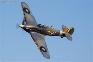 Hawker Sea Hurricane 1B Z7015