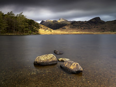 Langdale Pikes, Blea Tarn, Lake District (MelvinNicholsonPhotography) Tags: bleatarn langdale langdalepikes lakedistrict cumbria mountain tarn water longexposure nisifilters benrotma48cxltripod benrogd3whgearedhead