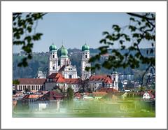 Frühling in Passau (Spring in Passau) (alfred.hausberger) Tags: passau bayern deutschland de dom hacklberg