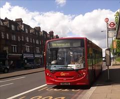 Go-Ahead London General SE190 SN12AVG | G1 to Streatham, Green Lane (Unorm001) Tags: red london single deck decks decker deckers buses bus routes route diesel adl alexander dennis limited enviro 200 e200 enviro200 e20d e200dart dart 4 iv euro5 v euro 5 se190 se 190 g1 sn12avg sn12 avg