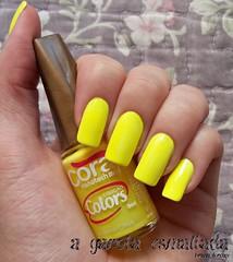 Esmalte Amarelo Citrus, da Cora. (A Garota Esmaltada) Tags: agarotaesmaltada unhas esmaltes nails nailpolish manicure amarelocitrus cora colors amarelo yellow