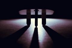 """Touchdown - Macro Mondays """"Plugs & Jacks"""" (iratebadger) Tags: nikon nikond7100 d7100 plug shadows silhouette light lightroom backlit dark black white indoors macromonday plugsjacks iratebadger"""