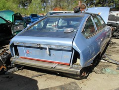 1978 Citroen CX 2400 Pallas #2 (occama) Tags: tuj297s citroen cx 1978 blue old car scrap scrapyard french cornwall uk 2400 pallas