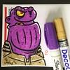Thanos (Question Josh? - SB/DSK) Tags: sticker stickers slaps sticks thanos avengers marvel cartoon markers label228