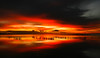 Sunset Western Port Bay (laurie.g.w) Tags: westernport bay sunset victoria australia water sky cloud seascape waterscape landscape red warm