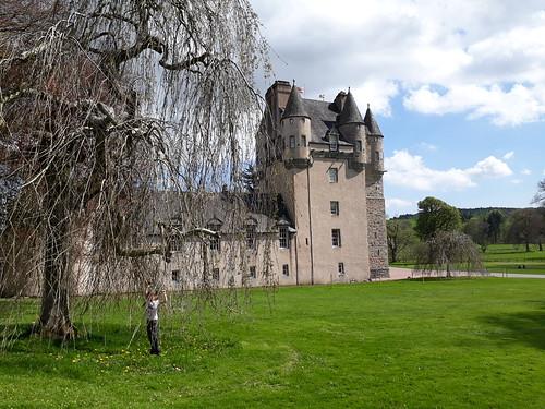 At Castle Fraser