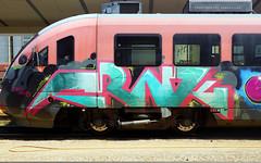 Graffiti in Maribor 2017 (kami68k -all over-) Tags: maribor slovenia 2017 graffiti illegal bombing train panel bunt frnk