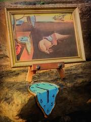 Tribute to Salvador Dali (clarkcg photography) Tags: art birthday clock melt style salvadordali may11 inspiremethursday 114