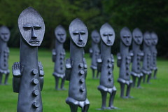 Yorkshire Sculpture Park (Yorkshire Pics) Tags: yorkshiresculpturepark ysp sculpture theinvisibleman sculpturepark wakefield 1105 11052018 11thmay 11thmay2018 blackandbluetheinvisiblemanandthemasqueofblackness theinvisiblemanandthemasqueofblackness