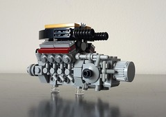 Driveline (sebeus) Tags: lego engine v8 transmission mclaren ferrari