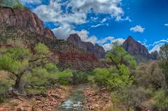Zion National Park, Utah (erwinberrier) Tags: zion zionnationalpark utah canyom river landscape hdr