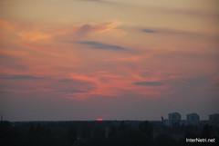 Небо Захід сонця InterNetri Ukraine  13