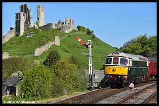 No D6515 LT Jenny Lewis RN 13th May 2018 Swanage Railway Diesel Gala