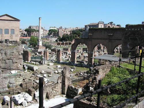 Римський форум, Рим, Італія InterNetri Italy 388