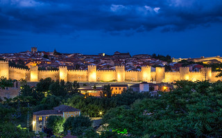 The Walls of Avila / Spain