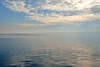 serene (l i v e l t r a) Tags: lakemichigan serene calm water lake blue sky clouds horizon reflection 35mmf18ged f11 df light natural view quiet minimal