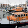 321 of Year 4 - RNLI Lifeboats in for servicing (Hi, I'm Tim Large) Tags: rnli lifeboat boat marina portishead two pair fuji fujifilm xf xpro2 23mm f14 quay port dock tied secure