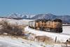 UP 6077 Greenland 14 Apr 18 (AK Ween) Tags: up unionpacific up6077 generalelectric ge ac4400cw spruce colorado jointline rampartrange pikespeak train railroad greenlandopenspace
