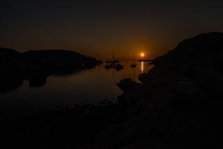 Sunset anchorage...
