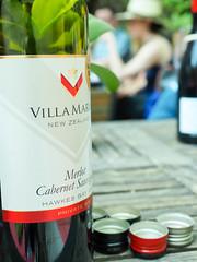 Villa Maria Cabernet Merlot, New Zealand Wine (The Wine Cat) Tags: villamaria cabernet merlot newzealandwine screwcaps strawhats summer privatebin mostawardedwinery nzwines hawkesbay design wine marketing spring