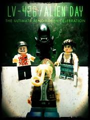 LV-426 (LegoKlyph) Tags: lego custom brick block mini figure build lastic toy alien space xenomorph ripley nerd movie scfi monsters