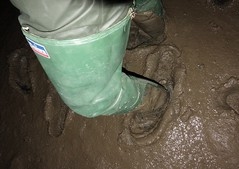 More Daiwa in mud (essex_mud_explorer) Tags: daiwa rubber thigh hip green gates vintage hunter coarsefisher waders boots thighboots thighwaders mud muddy mudflats creek estuary tidal saltmarsh marshes schlamm matsch boue sinking splodging splatching squelching squelch splatch splodge