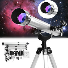 675x High Magnification Astronomical Refractive Zooming Telescope for Space Celestial Observation (1279149) #Banggood