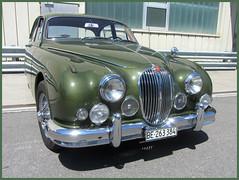 Jaguar MkII, 3.4 Litre (v8dub) Tags: jaguar mk ii 3 4 litre 2 schweiz suisse switzerland bleienbach british pkw voiture car wagen worldcars auto automobile automotive old oldtimer oldcar klassik classic collector