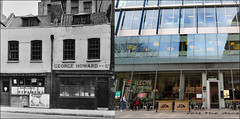 Sumner Street`1959-2018 (roll the dice) Tags: london southwark se1 old retro bygone vanished demolished local history nostalgia comparison streetfurniture architecture urban england uk classic art shops shopping victorian modern glass georgehoward leon food eat boozer pub beer changes collection oldandnew pastandpresent hereandnow tate contemporary events alliesmorrison tables balls canon globe